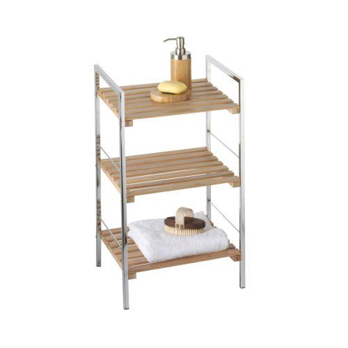 Bambusz 3 szintes fürdőszobai polc - Pianetticsempe.hu